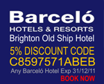 Barceló - Brighton Old Ship Hotel - Overlooking the Sea